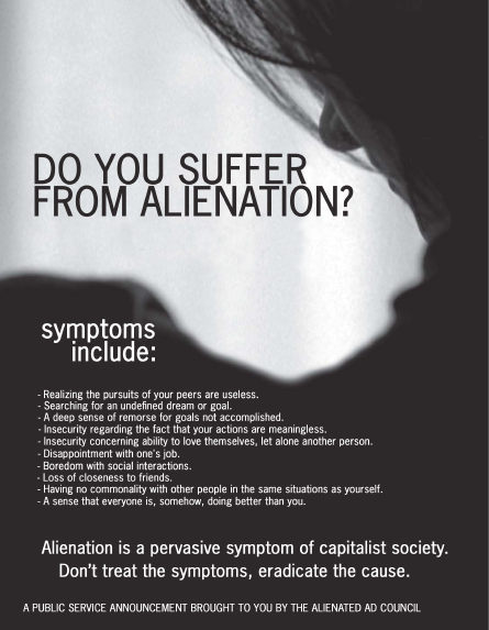 do you suffer from alienation