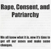 rape consent and p