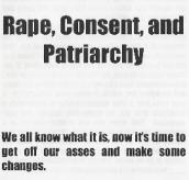 rape consent and p