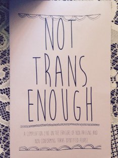 not trans enough